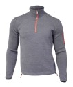 Ivanhoe Assar Half Zip - Grey 3XL