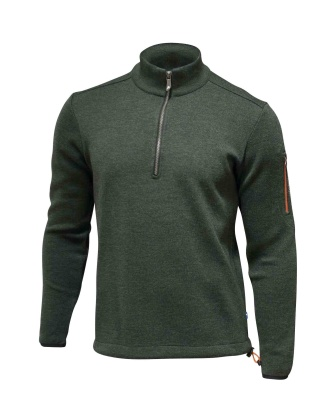 Ivanhoe Assar Half Zip - Rifle green S