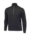 Ivanhoe Assar Half Zip - Black 3XL