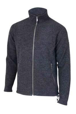 Ivanhoe Bruno Full Zip - Graphite marl S
