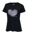 Ivanhoe Underwool Meja Heart - Black 44