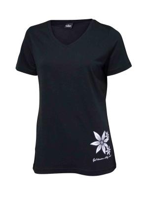 Ivanhoe Underwool Mim Flower - Black 36
