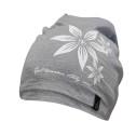 Ivanhoe Underwool Hat Flower - Grey marl