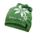 Ivanhoe Underwool Hat Flower - Forest green