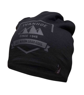 Ivanhoe Underwool Hat Shield - Black