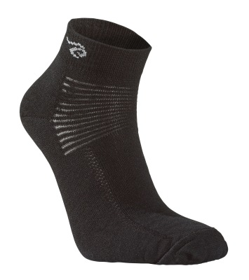 Ivanhoe Wool Sock Low - Black 35-39