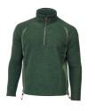 Ivanhoe Kaj Half Zip - Rifle Green XXL