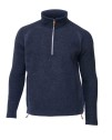 Ivanhoe Kaj Half Zip - Light Navy 3XL