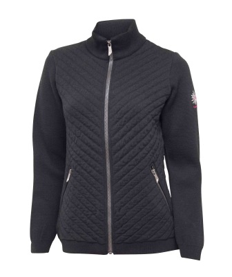 Ivanhoe Kicki Full Zip - Black 36