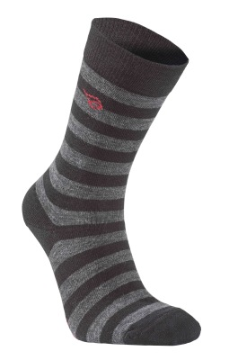Ivanhoe Wool Sock Stripe - Black 40-45