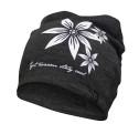 Ivanhoe Underwool Hat Flower - Graphite Marl