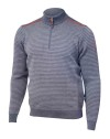 Ivanhoe Askon Half Zip - Grey 3XL