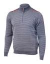 Ivanhoe Askon Half Zip - Grey XXL
