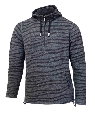 Ivanhoe Wave Hood - Grey S
