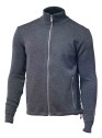 Ivanhoe Assar Full Zip - Graphite marl 3XL