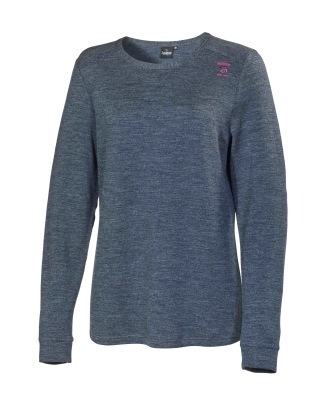 Ivanhoe Underwool Thea long Sleeve - Graphite marl 42