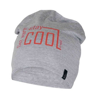Ivanhoe Underwool Hat Cool - Grey marl One Size
