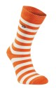 Ivanhoe Wool Sock Stripe - Orange 40-45