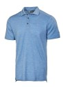 Ivanhoe Underwool Elis Poloshirt - Ice blue marl 3XL