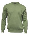 Ivanhoe Cashwool V-neck Male - Spring Green XXL