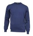 Ivanhoe Cashwool Crewneck Male - Steel Blue XXL