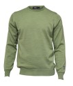 Ivanhoe Cashwool Crewneck Male - Spring Green XXL
