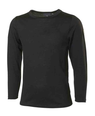 Ivanhoe Underwool Junior Tango Long Sleeve - Black 100