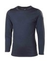 Ivanhoe Underwool Junior Tango Long Sleeve - Steelblue 140