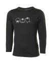 Ivanhoe Underwool Junior Tango Sheep - Black 140