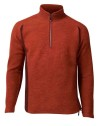 Ivanhoe Kaj Half Zip - Red Clay 3XL