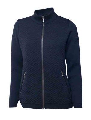 Ivanhoe Elna Full Zip - Navy 36