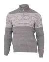 Ivanhoe Mattis Half Zip - Grey 3XL