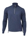 Ivanhoe Assar Half Zip WB - Steel Blue 3XL