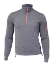 Ivanhoe Assar Half Zip WB - Grey 3XL