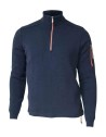 Ivanhoe Assar Half Zip WB - Navy 3XL
