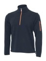 Ivanhoe Assar Half Zip - Navy 3XL