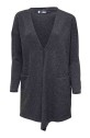 Ivanhoe GY Timmele Cardigan - Graphite marl 44