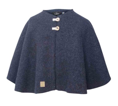 Ivanhoe Junior Tripp Poncho - Light navy 90/100