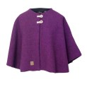 Ivanhoe Junior Tripp Poncho - Purple 130/140