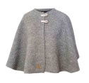 Ivanhoe Junior Tripp Poncho - Grey marl 130/140