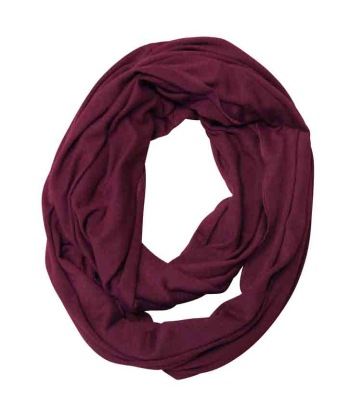 Ivanhoe GY Hulared Loop Scarf - Bordaeux One Size