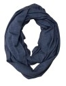 Ivanhoe GY Hulared Loop Scarf - Steel blue One Size