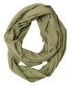 Ivanhoe GY Hulared Loop Scarf - Olive One Size