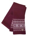 Ivanhoe Aske Scarf - Rumba Red One size