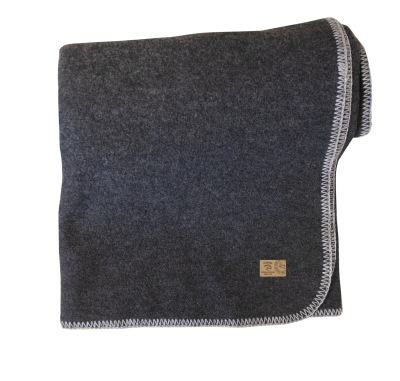 Ivanhoe Blanket - Graphite Marl 120x165cm