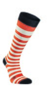 Ivanhoe Wool Sock Stripe Compression