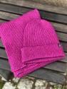 Ivanhoe Wool Set Scarf & Hat - Purple