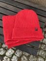 Ivanhoe Wool Set Scarf & Hat - Red
