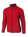 Ivanhoe Valde Full Zip - Fiery Red 3XL