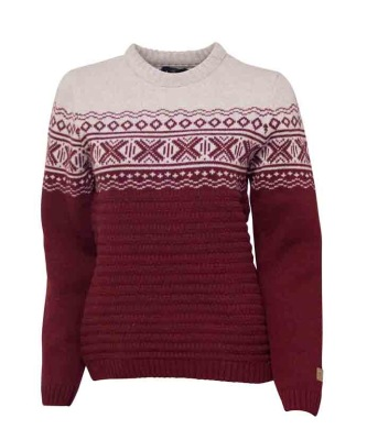 Ivanhoe Jorunn Crew Neck - Rumba red 36